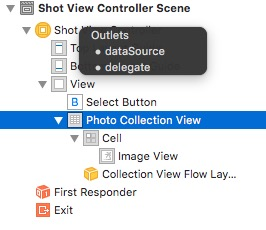CollectionViewControllerではなくてCollectionViewを使ってみる。