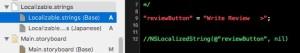【Localizable.strings】多言語化した後からとか、コードで多言語化。