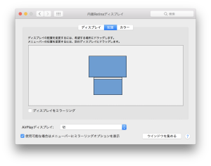 MacBook Pro 2016 late レビュー HDMIで外部モニタ。