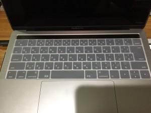 MacBook Pro 2016 late レビュー キーボードカバー