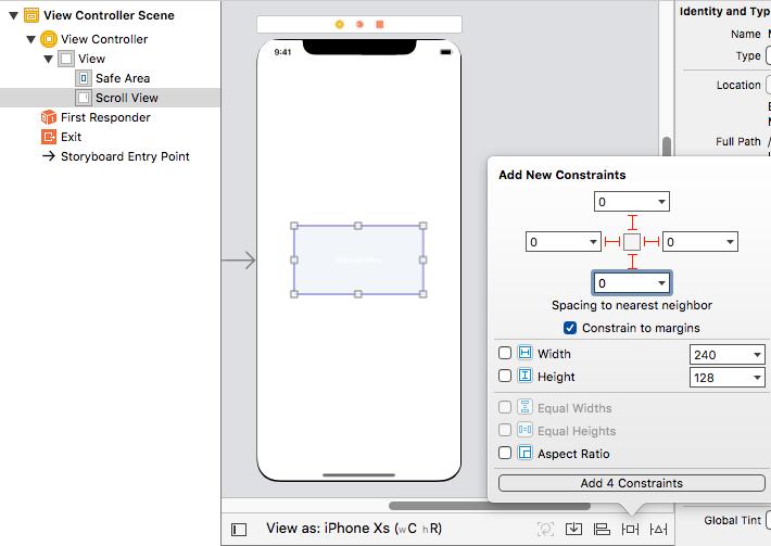 【Swift5】縦長のスクロール画面をscrollViewとstackViewを使って作ると便利だった。改訂版
